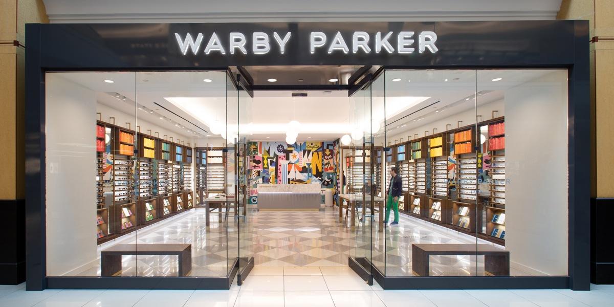 warby parker storefront