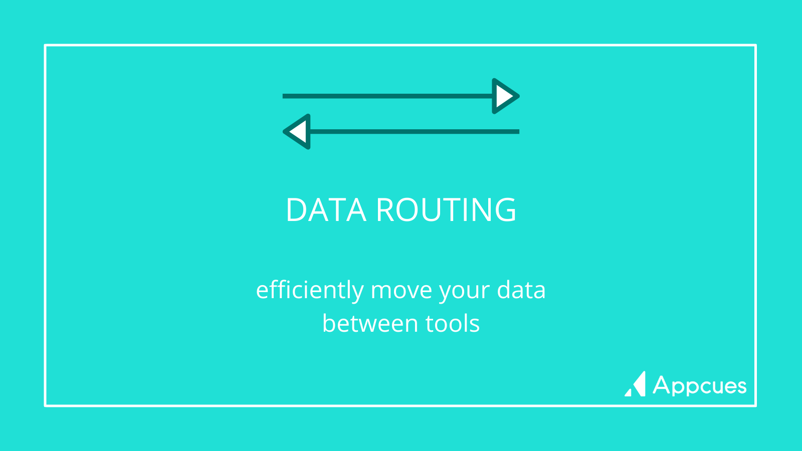 Data Routing: efficiently move your data between tools