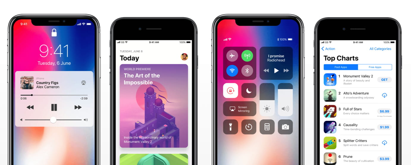 Comprehensive, complete iOS 10 GUI kit and iOS 11 GUI kit for GUI design. Massive collection of core iOS components made according to human interface guidelines.