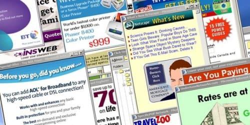 internet explorer pop up ads