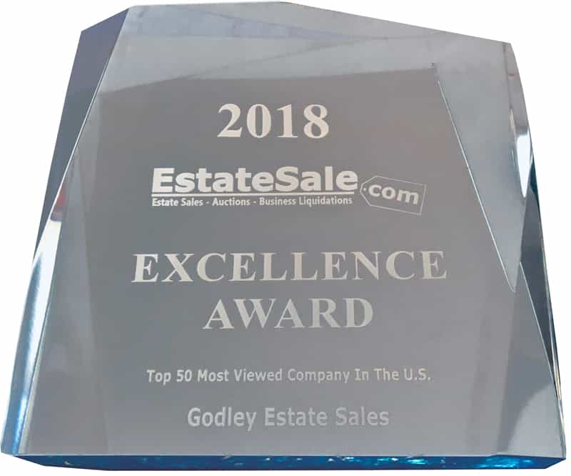 EstateSale.com Certificate of Award