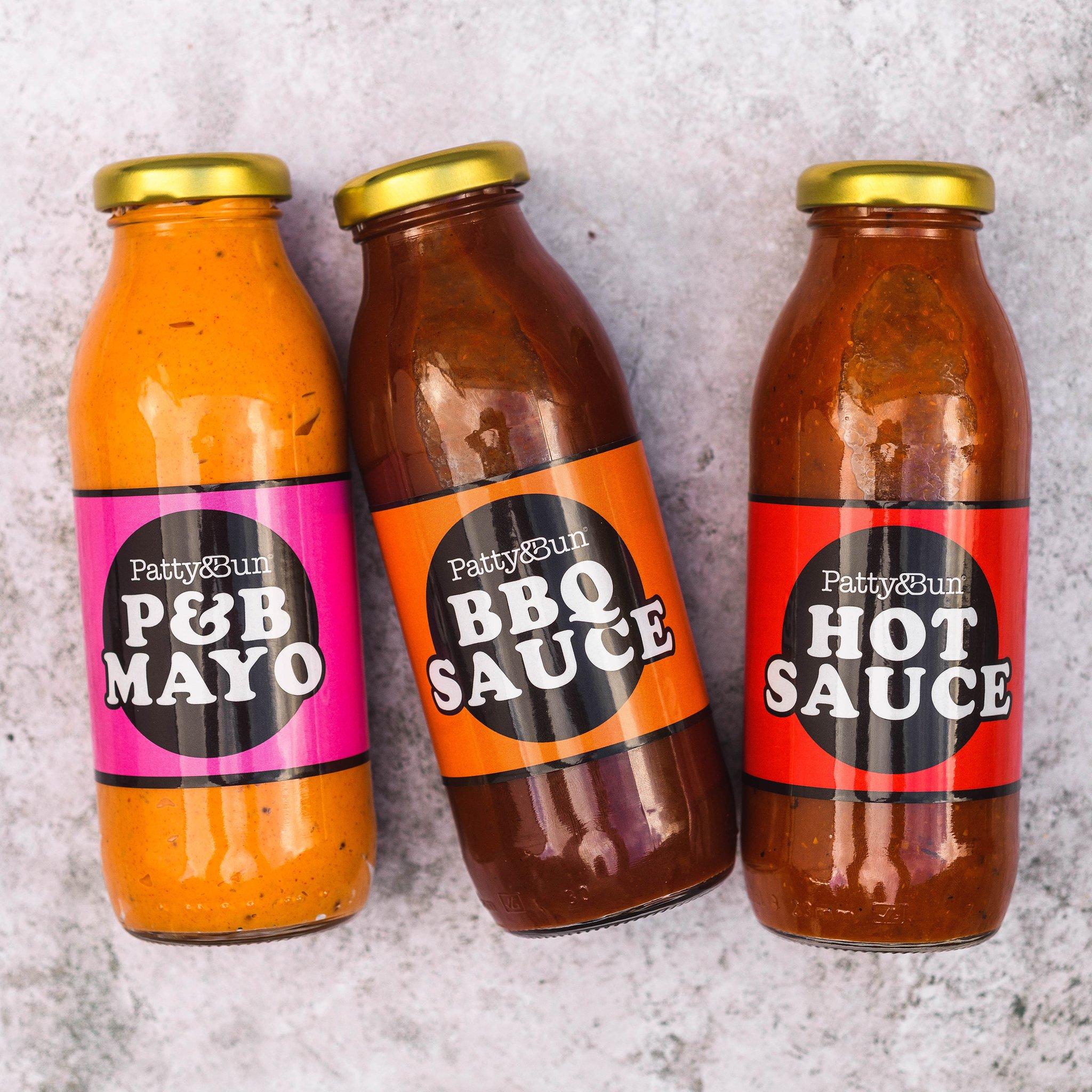 Patty&Bun Sauce Multipack