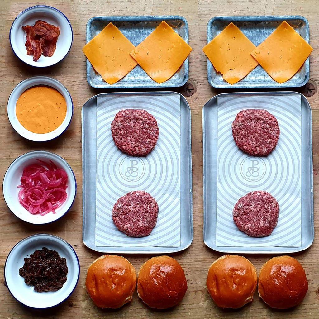 Combo Burger Kit for 4