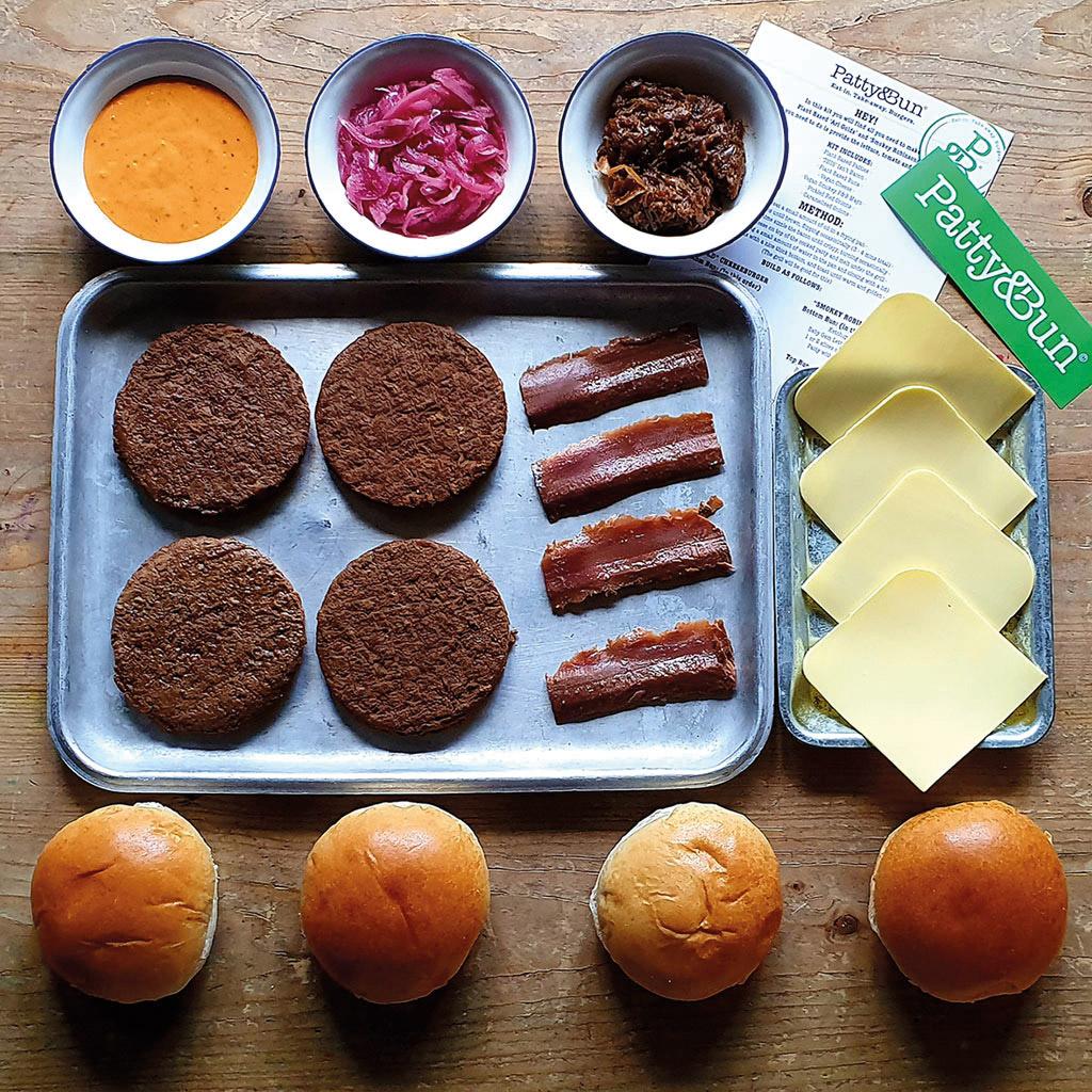 Vegan Combo Burger Kit for 4