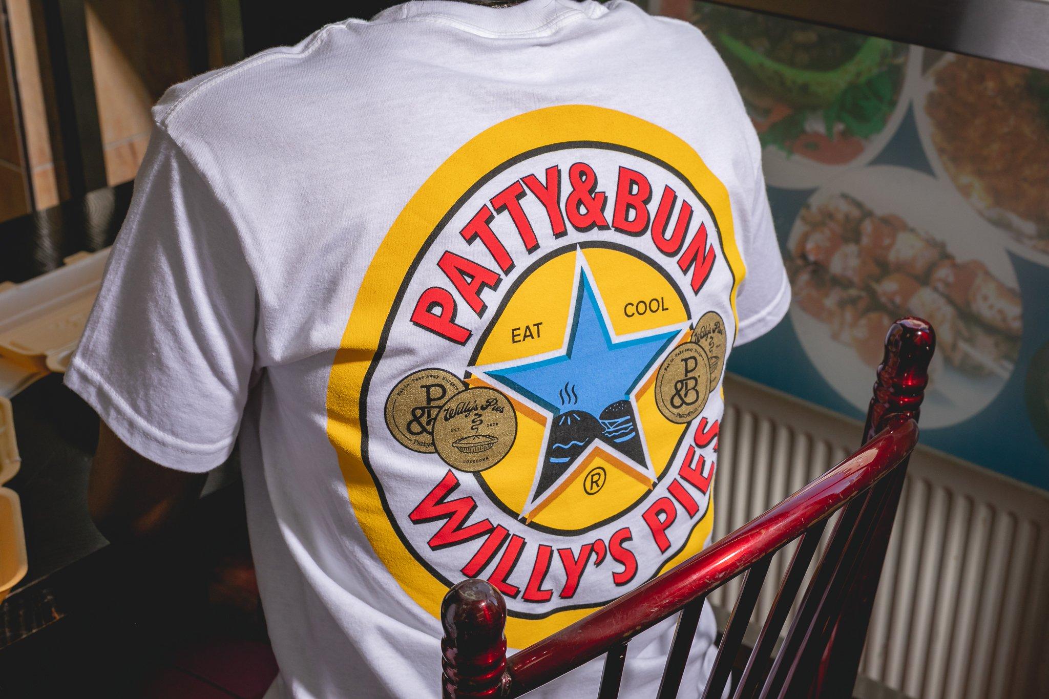 Willy's Pies x Patty&Bun NBA Tee