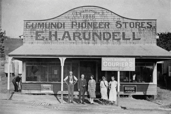 E.H. Arundell, Eumundi Pioneer Stores