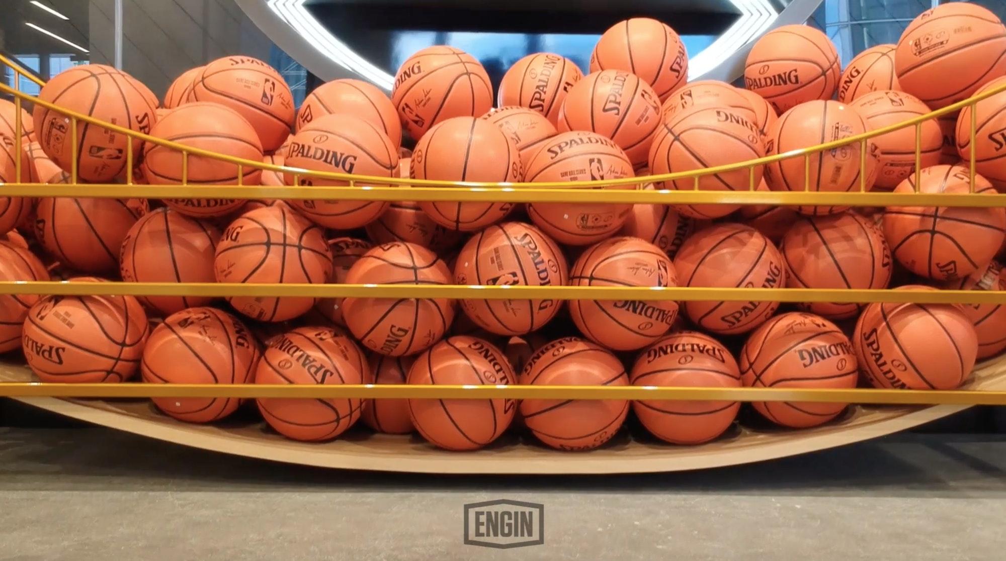 Slam Dunk: ENGIN Creative's New Warriors Retail Experience