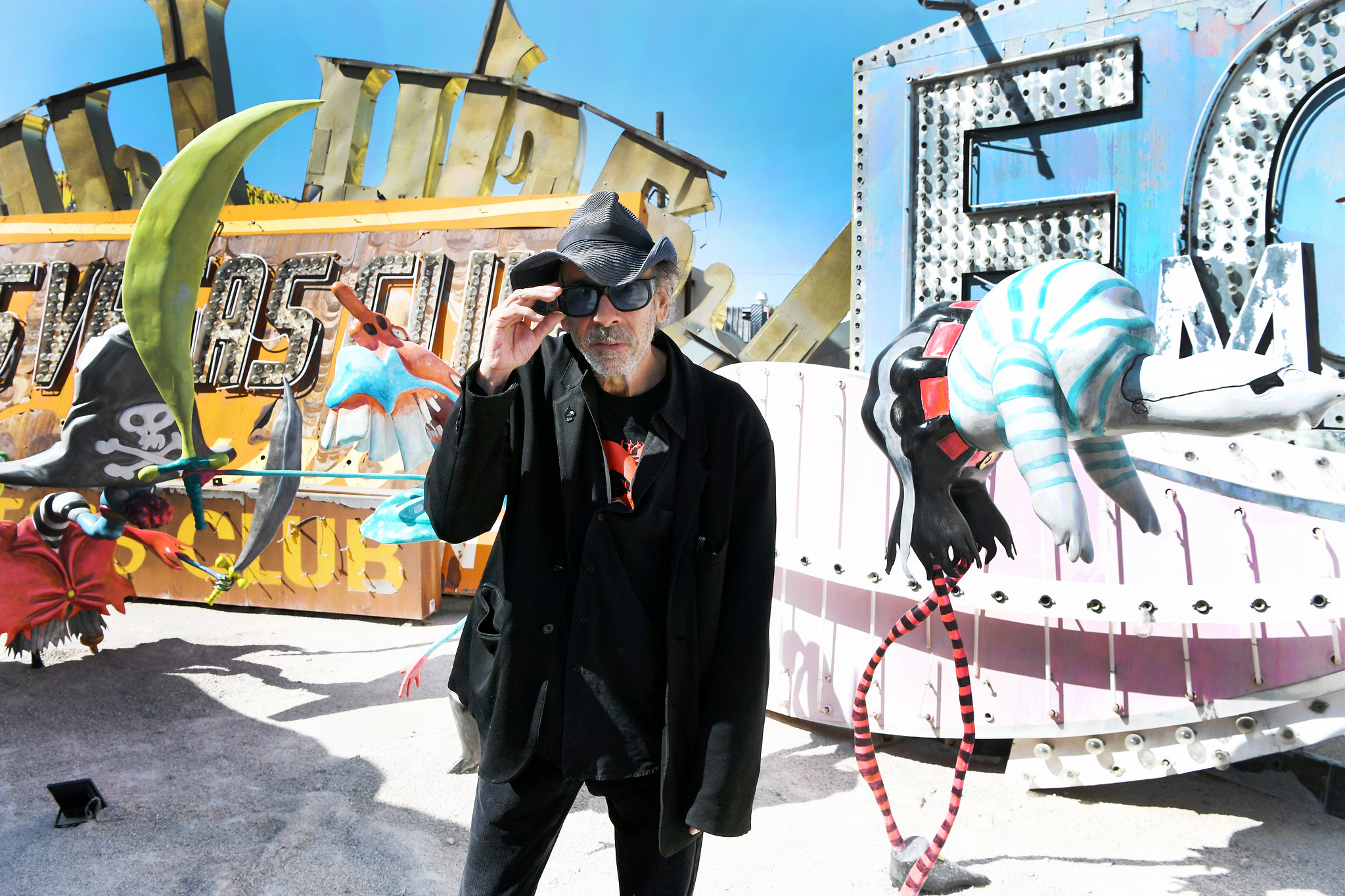 Collaborating in The Wild with Tim Burton for The Neon Museum