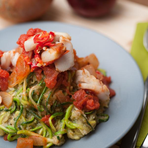 Zucchini veggie meal