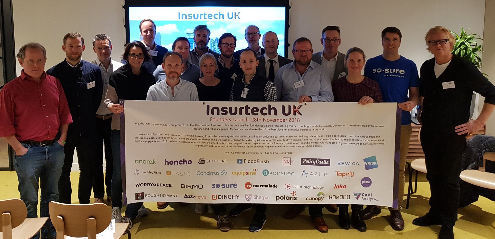 hokodo joins esteemed group of founders for Insurtech UK