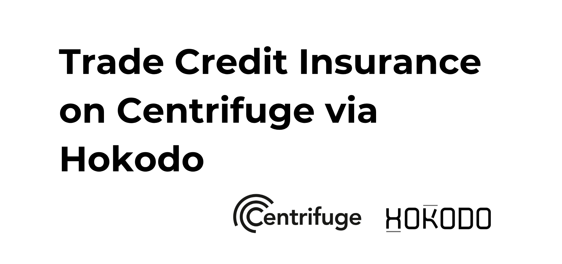 Reinventing Trade Finance with first blockchain-based credit insurance
