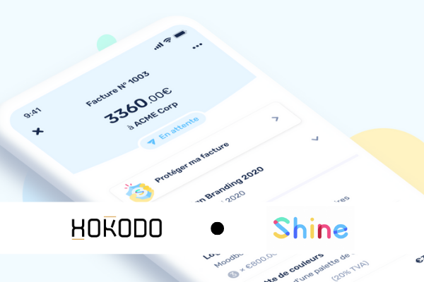 Hokodo teams up with French neo-bank Shine to protect freelancers and small businesses with integrated invoice insurance