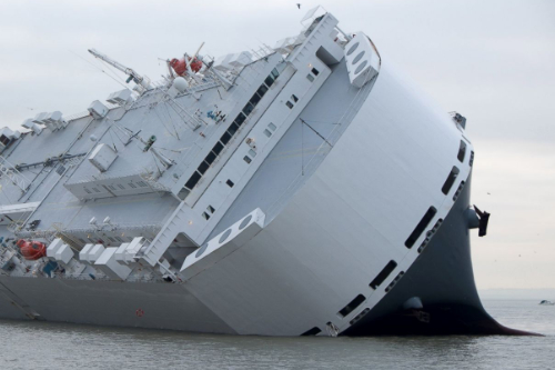 Freight insurance cargo ship grounded