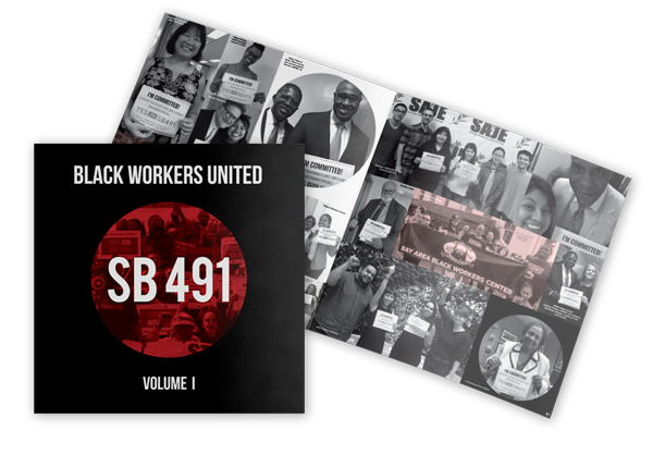 Black Workers United Book Cover and Interior