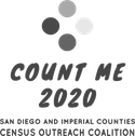 Count Me 2020 logo.