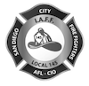 San Diego City Firefighters Local 145 logo.