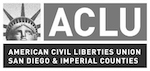 ACLU of San Diego and Imperial Counties logo