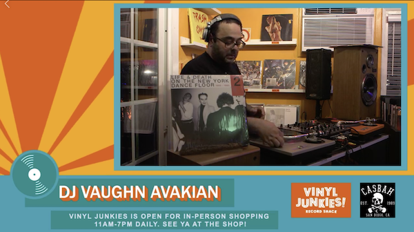 Vinyl Junkies Record Shack livestream