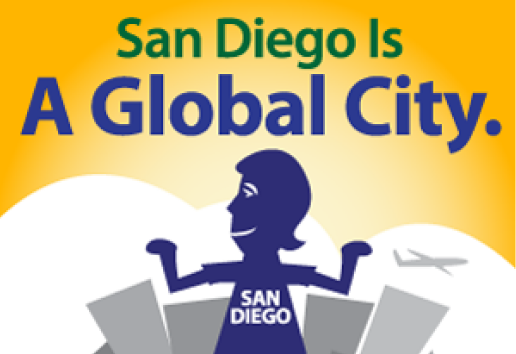 San Diego is a global city graphic
