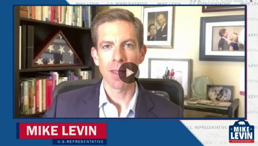 Representative Mike Levin livestream