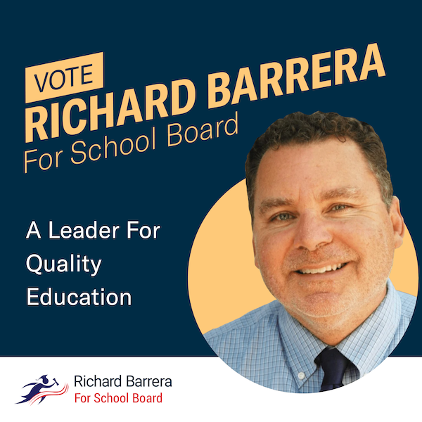 Richard Barrera for San Diego Unified School Board ad