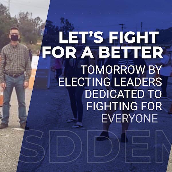 San Diego County Democratic Party ad