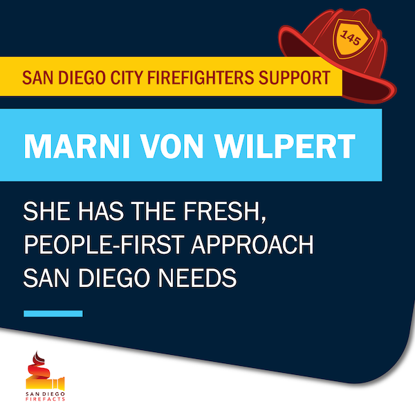 Marni von Wilpert for City Council ad