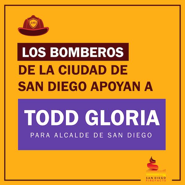 Todd Gloria for Mayor ad in Spanish