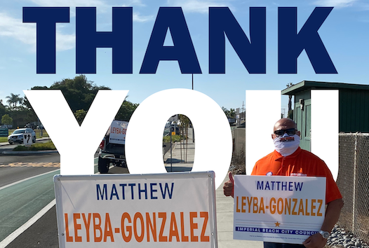 Matthew Leyba-Gonzalez for Imperial beach City Council