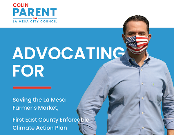 Colin Parent for La Mesa City Council