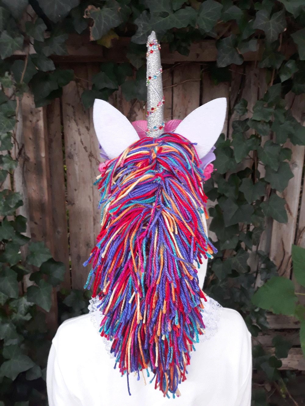 Photo of unicorn Halloween costume