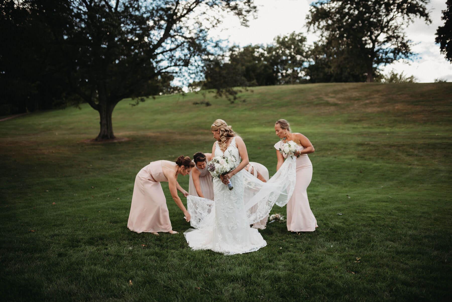 Woman Park Richland Michigan Wedding Photography