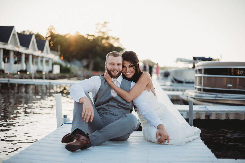 Brides Lake Richland Michigan Wedding Photography