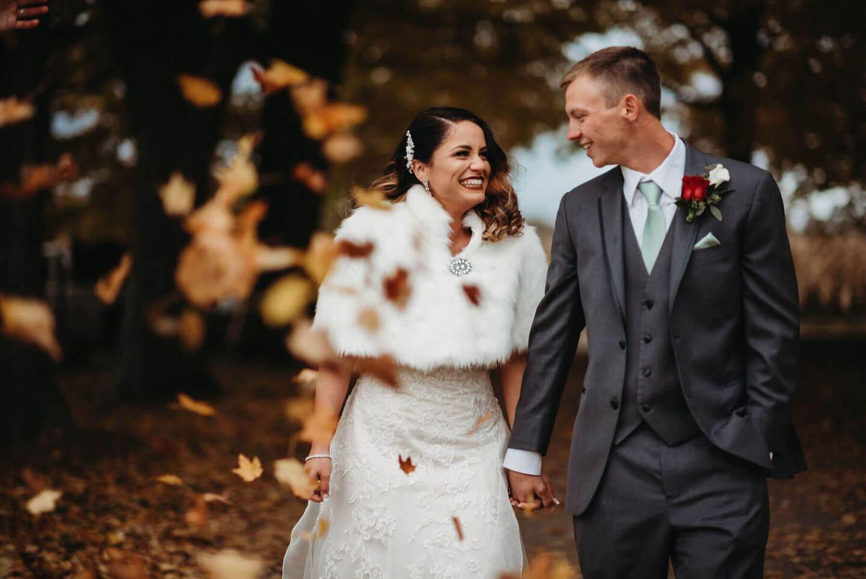 Brides Autmn Richland Michigan Wedding Photography