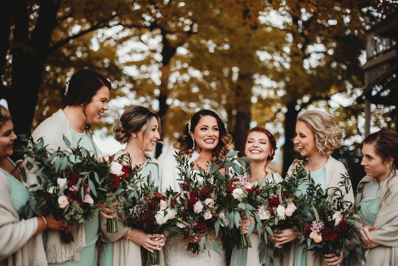 Woman Flowers Best Wedding Photographer