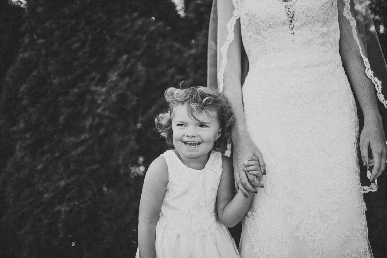 Girl BnW Richland Michigan Wedding Photography