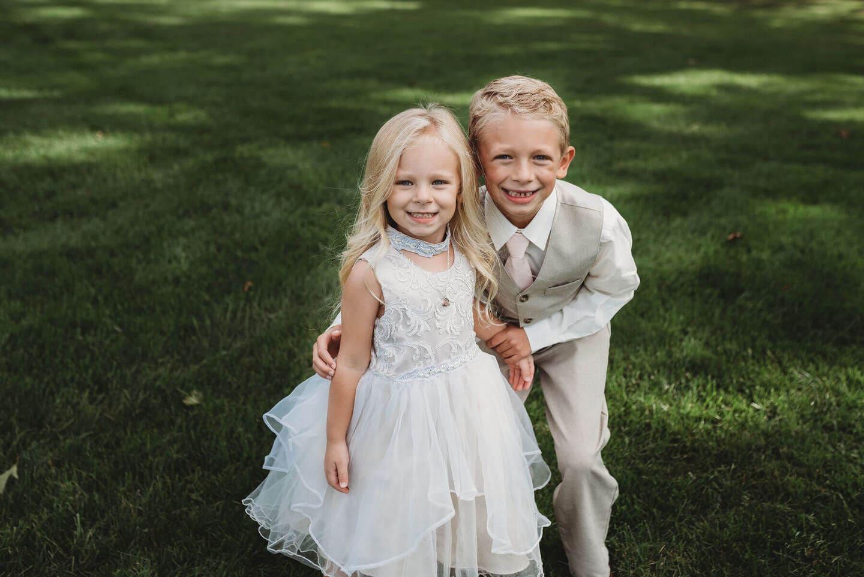 Childrens Richland Michigan Wedding Photography