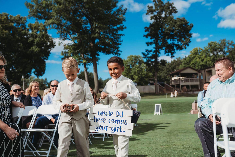 Boys Richland Michigan Wedding Photography