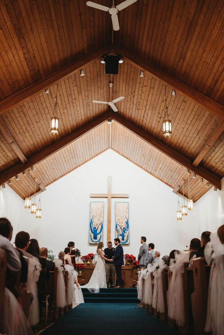 Church Guests Richland Michigan Wedding Photography