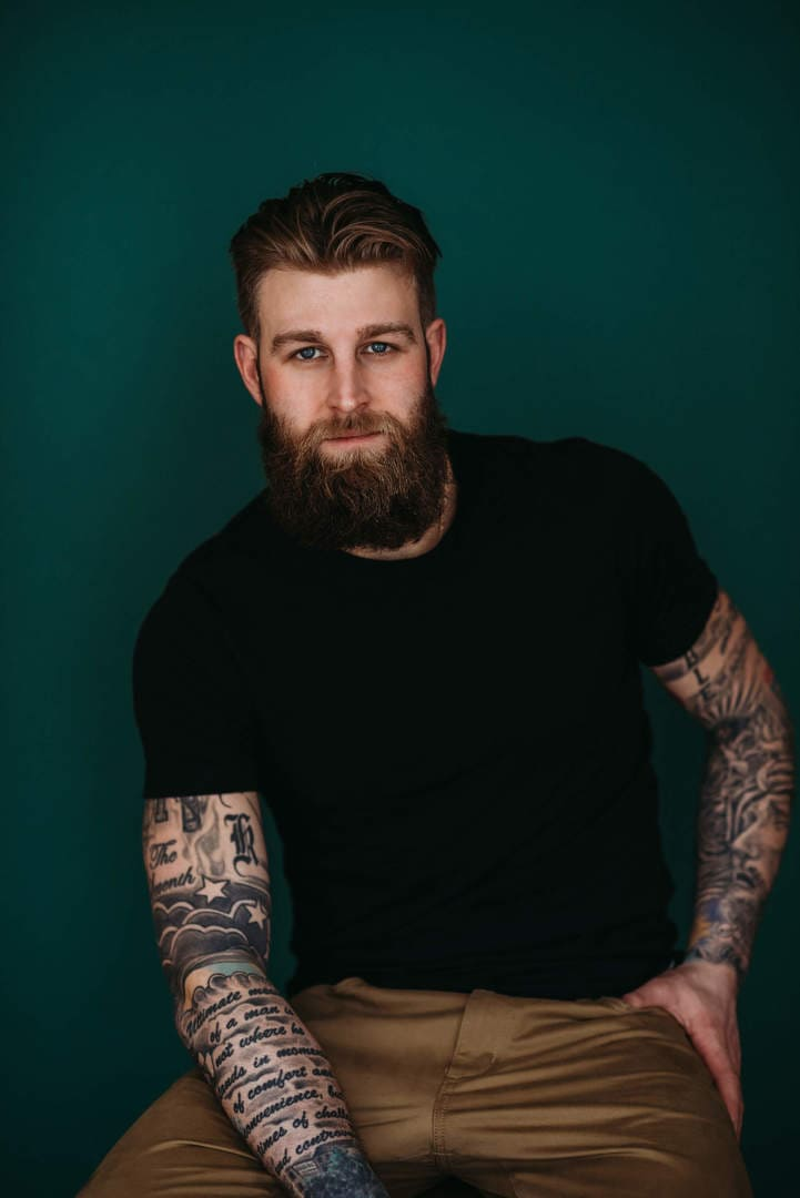 Men Beard Best Wedding Photographer