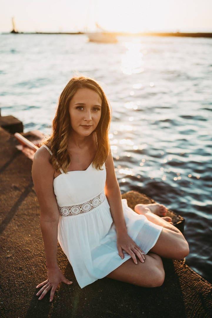 Girl Water Best Wedding Photographer
