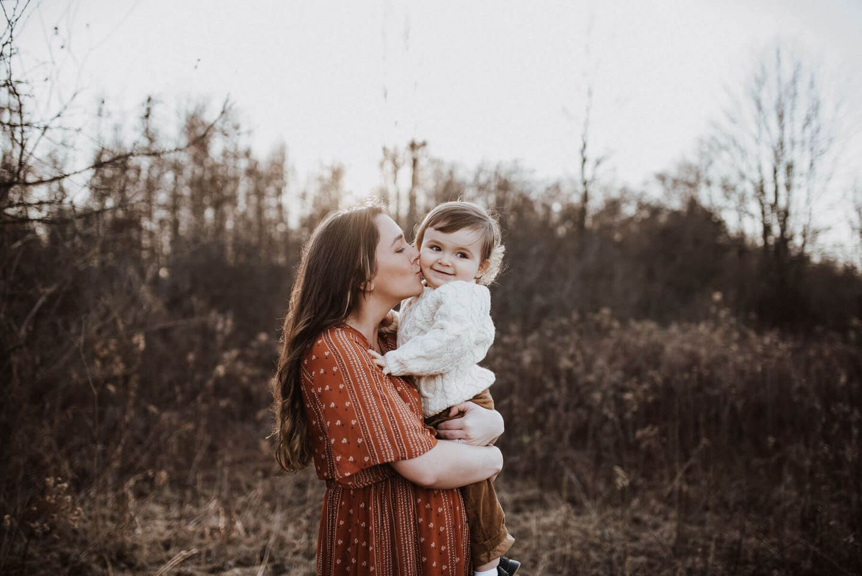Mother Baby Richland Michigan Wedding Photography
