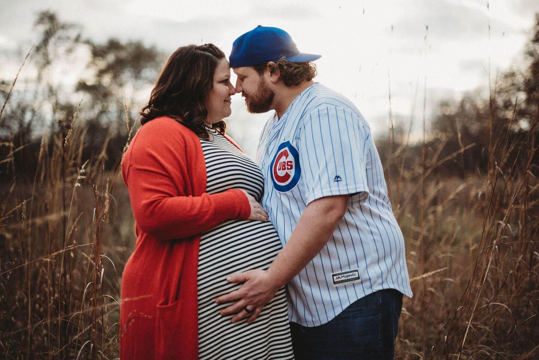 Pregnant Family Richland Michigan Wedding Photography