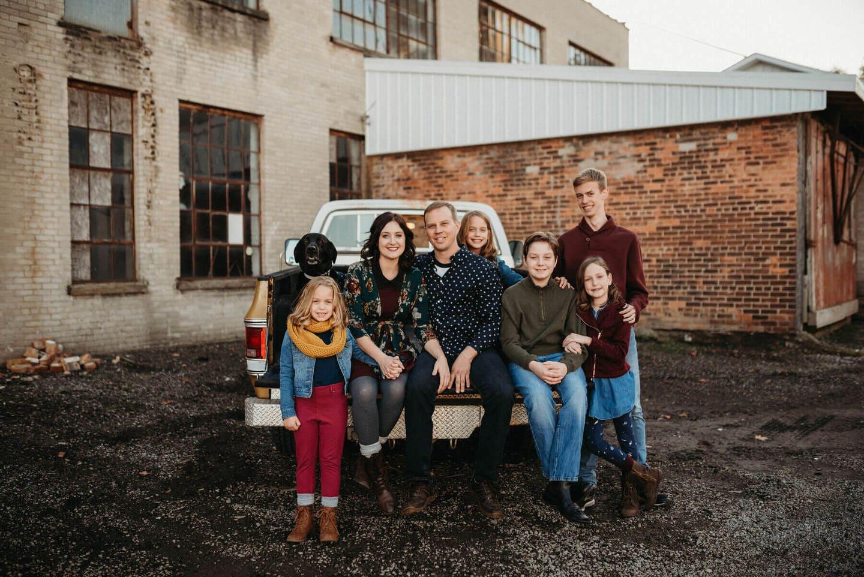 Family Dog Richland Michigan Wedding Photography