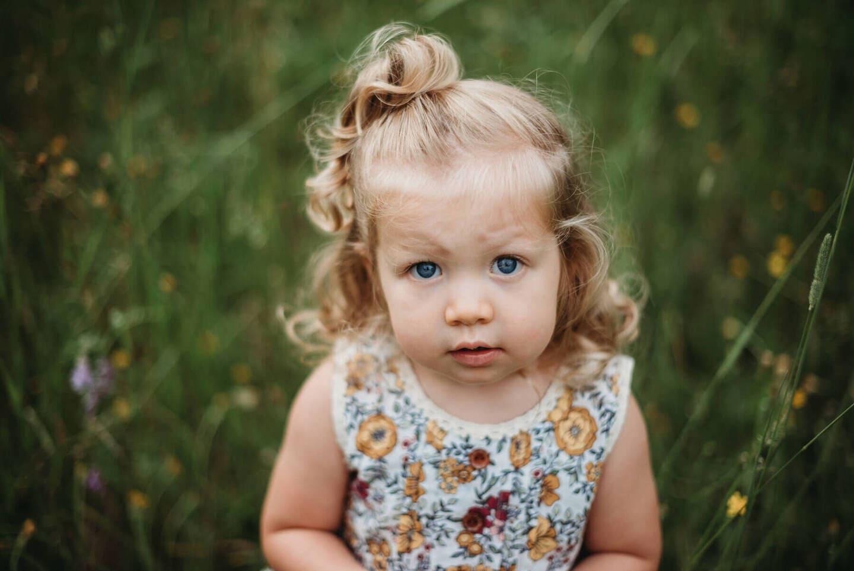 Children Girl Richland Michigan Wedding Photography