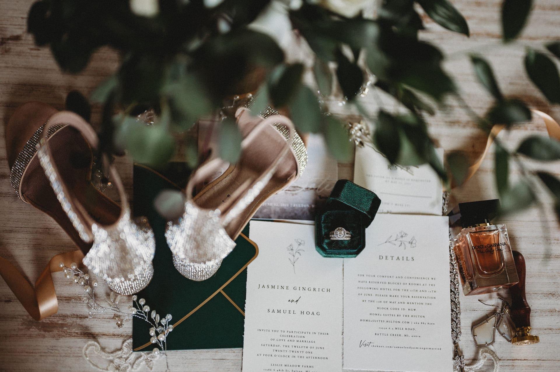 Details Richland Michigan Wedding Photography