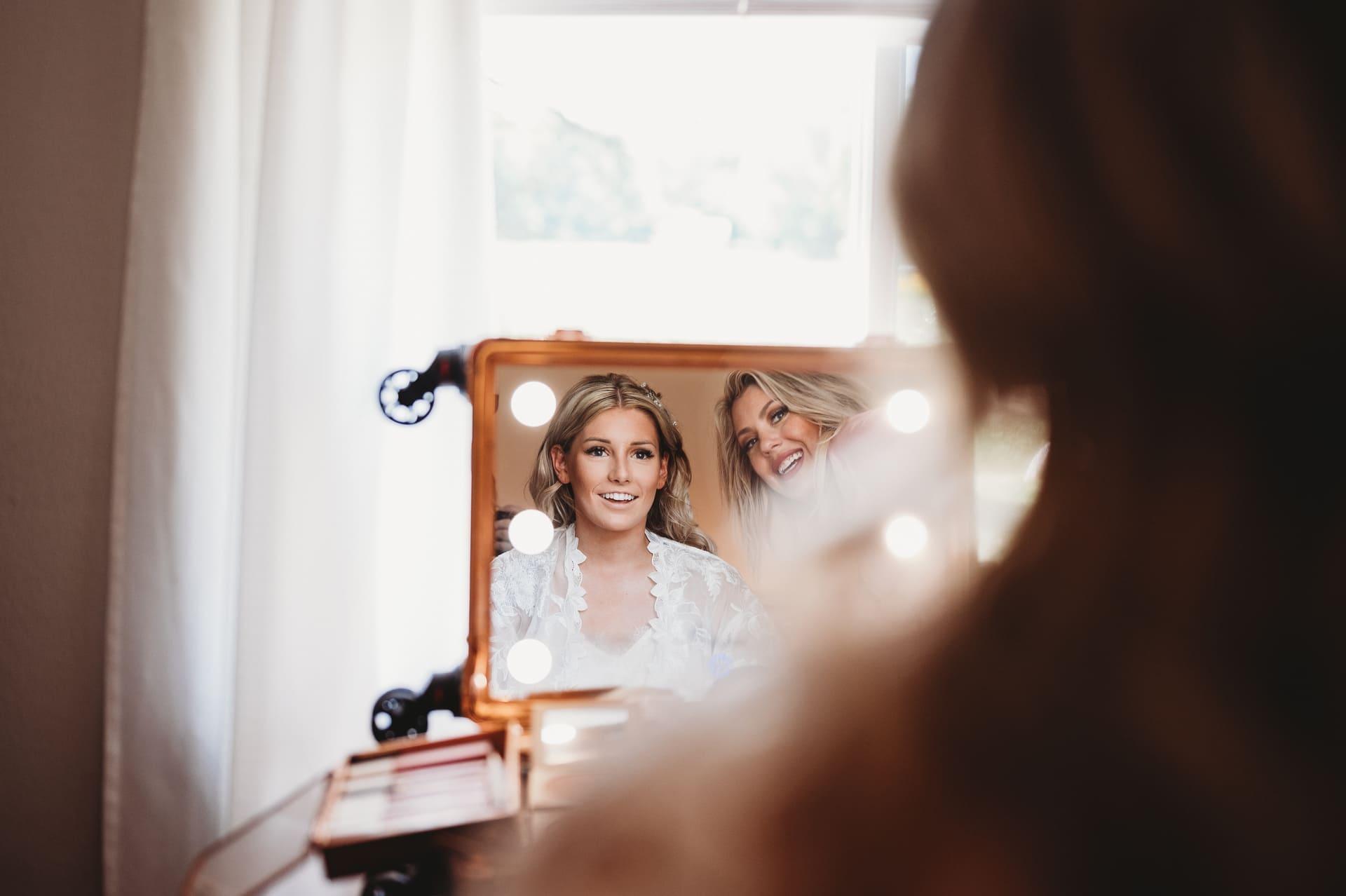 Bride Mirror Richland Michigan Wedding Photography
