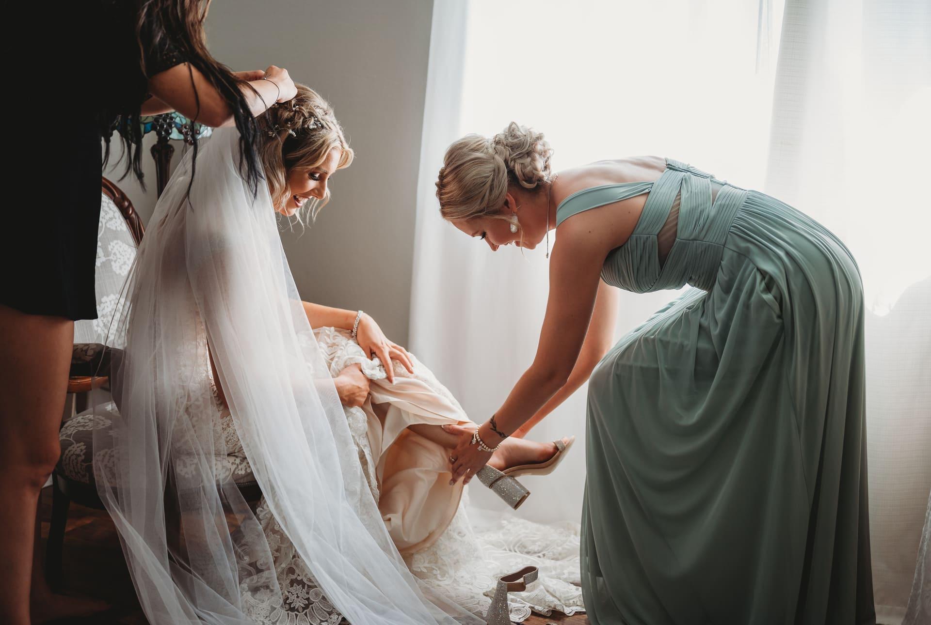 Bride Preparation Richland Michigan Wedding Photography