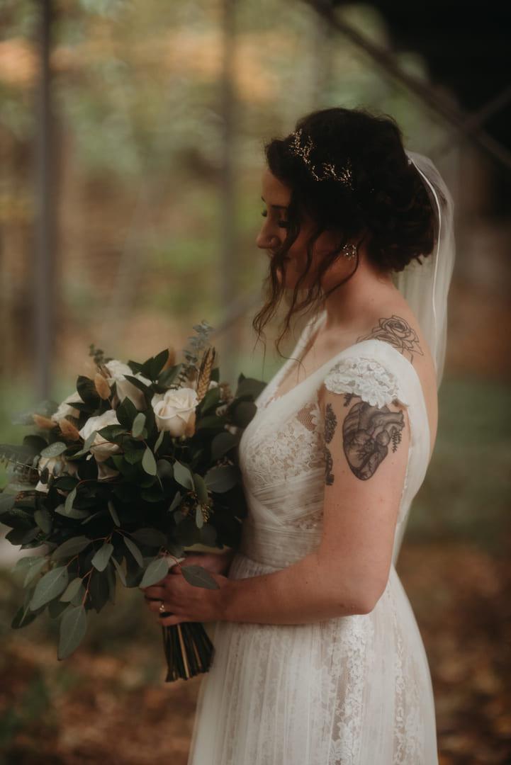 Bride Flowers Richland Michigan Wedding Photography