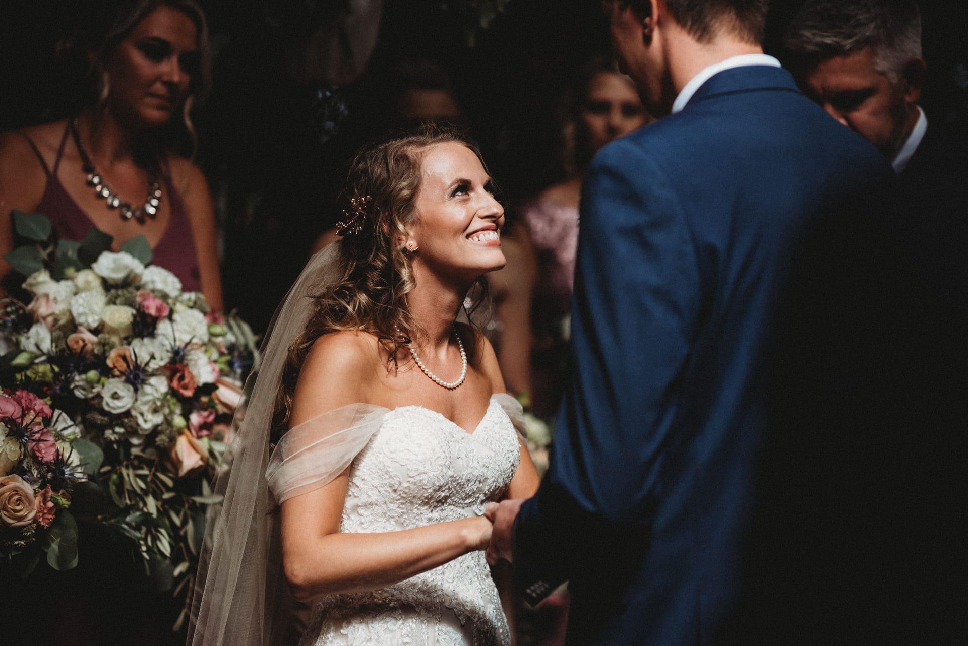Bride Smile Richland Michigan Wedding Photography